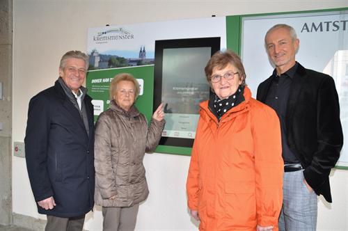 Foto für Kremsmünster: Die erste rechtskonforme digitale Gemeinde-Amtstafel